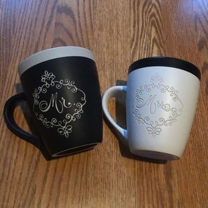 "NWOT Mr. and Mrs. ""Love is Magical"" Disney Mugs"